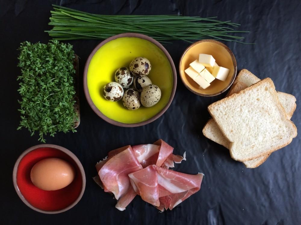 Eggs Benedict new style