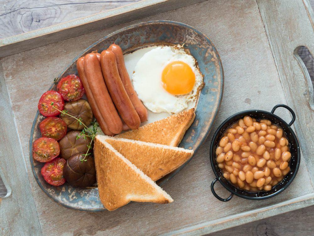 Honzova anglická snídaně