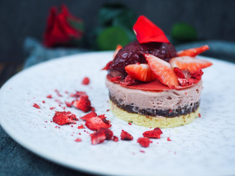 Valentýnský dezert podle Ondry Moliny